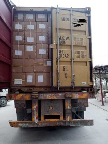 20 GP Container of GN Pans and Baking pans was Sent to Ukraine on December 18th